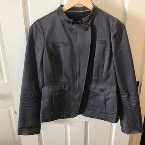 Banana Republic Motorcycle jacket blazer Grey